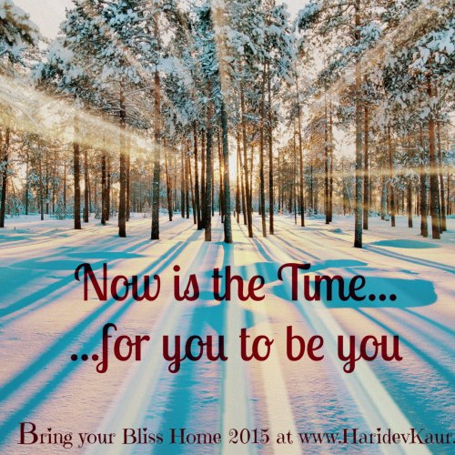 Bring Your Bliss Home 2015 – 11 Days Online Starts January 20th