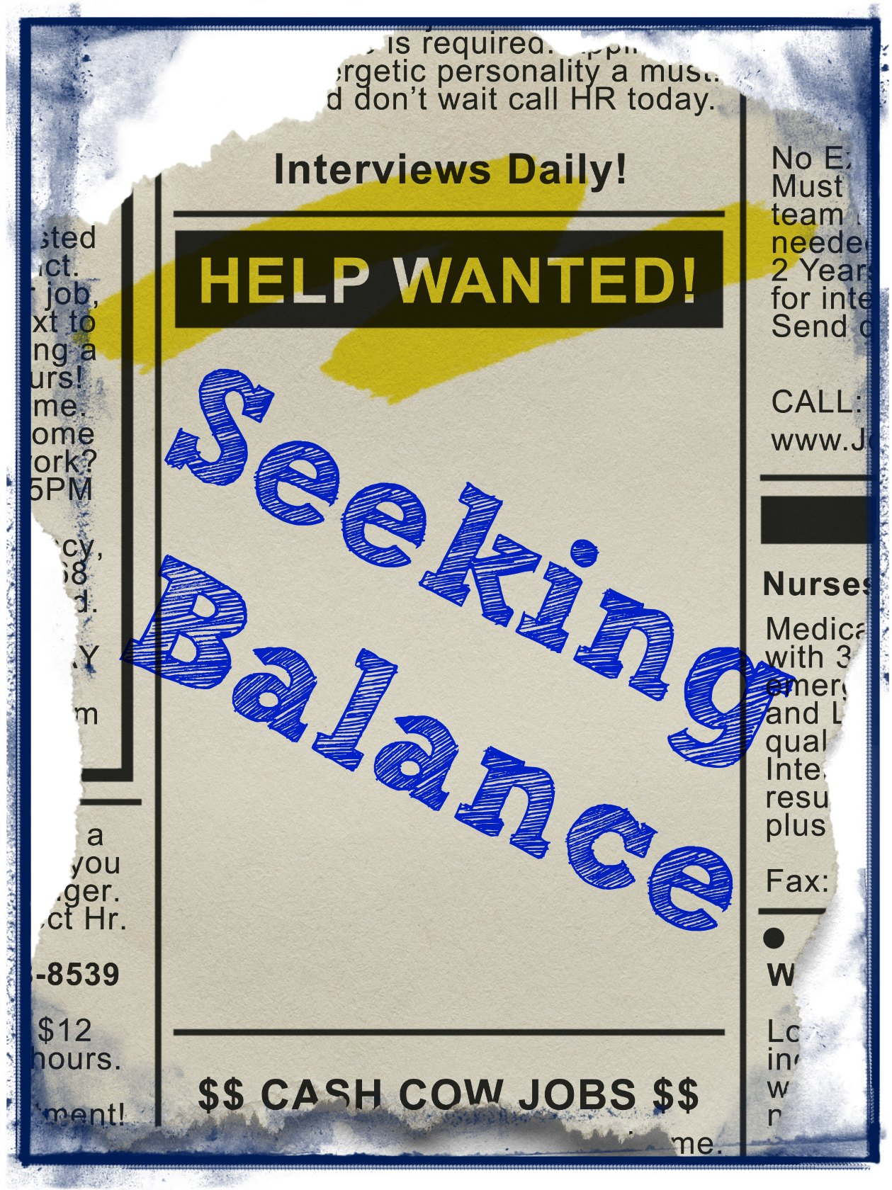 Help Wanted: Seeking Balance – Three Thursday Night Classees at Lighthouse Yoga Center