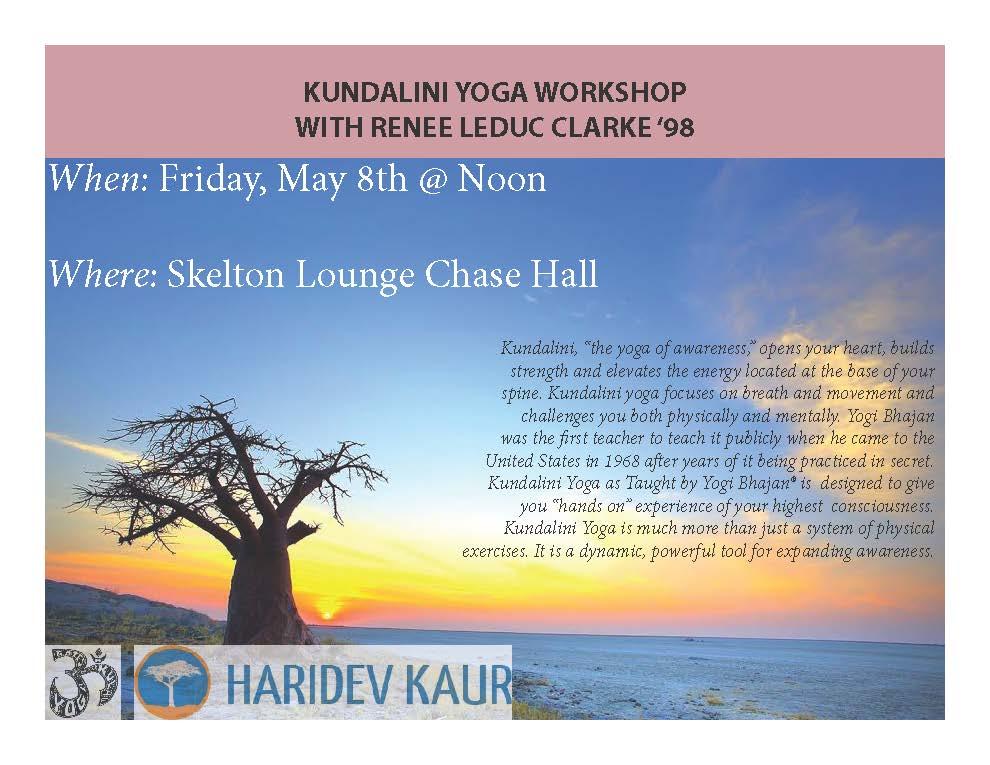 Bates Yoga Kula Class Flyer